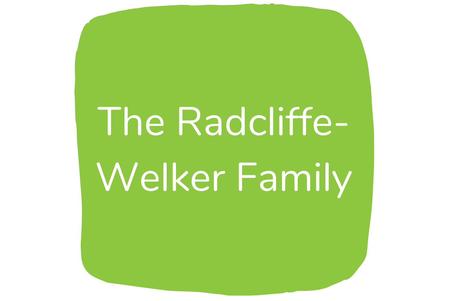 The Radcliffe-Welker Family Logo