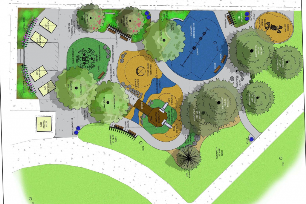 Esther Shore Park Design