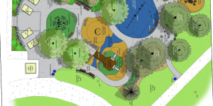 Esther Short Park Design