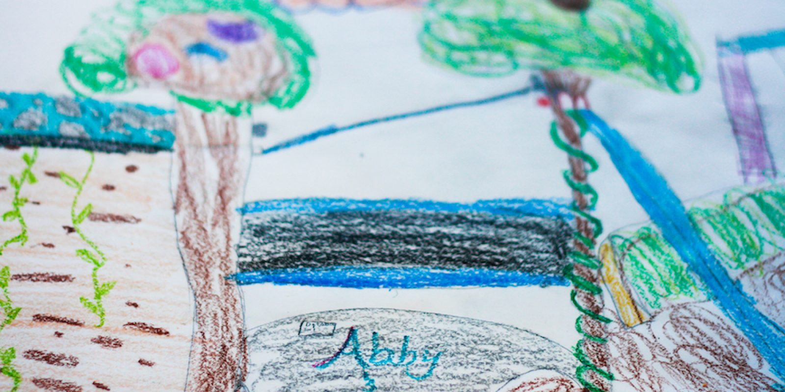 Anna and Abby's Yard Drawing