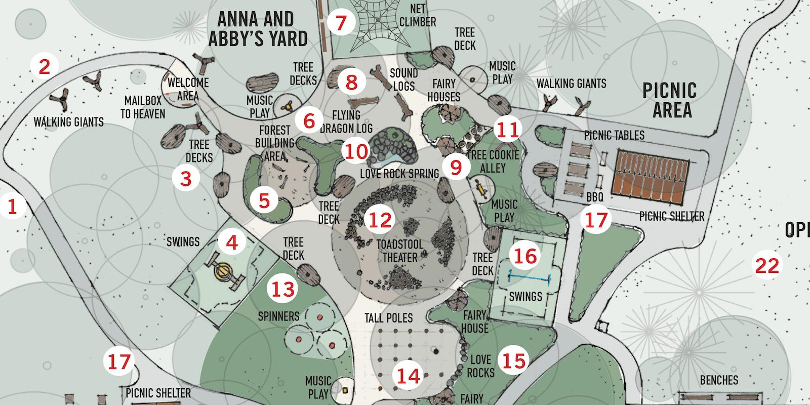 Anna Abbys Yard schematic