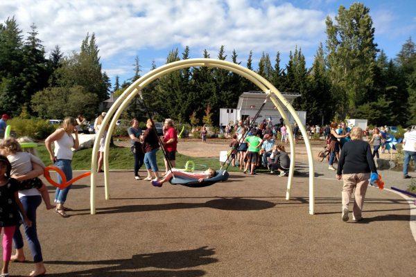 Owens playground swing