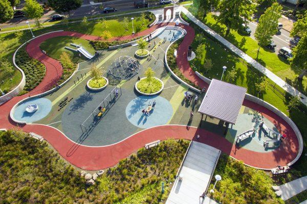 Salem hospital aerial